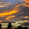 Sunset view from my Apartment - Kolkata, India