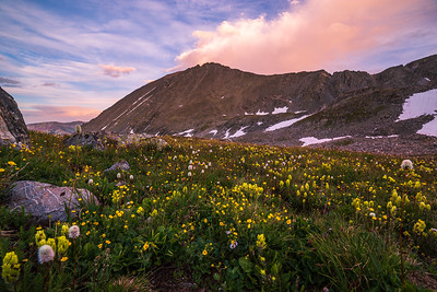 Quandary Peak Sunset