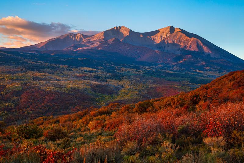 Mt. Sopris Sunrise