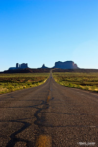 Leaving Monument Valley (USA)