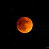 Super blood moon, total eclipse
