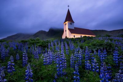 Vík church, Iceland