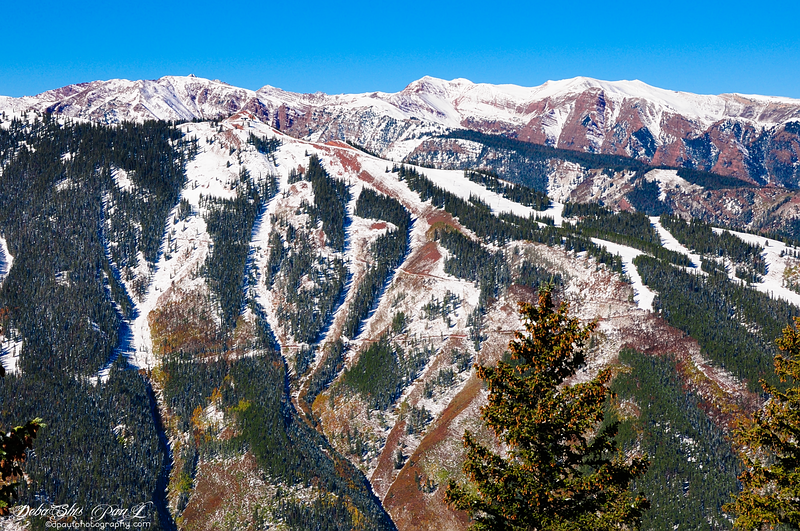Aspen Mountain from Gondola Ride - Aspen, Colorado - USA