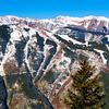 Aspen Mountain from Gondola Ride - Aspen, Colorado - USA