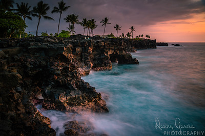 Sunset on the Cliffs