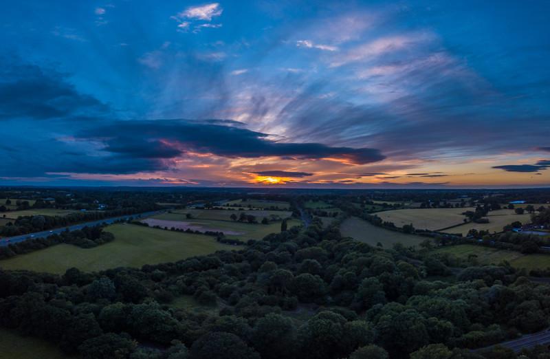 Warwickshire Sunet