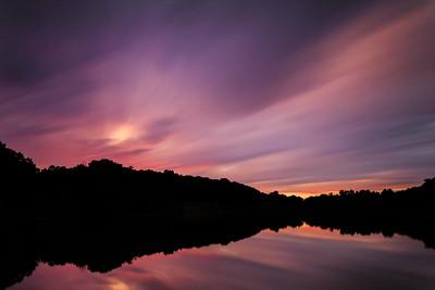 Lone Elk Park   Sunset