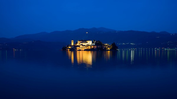 The Blue Hour | Orta San Giulio, Italy