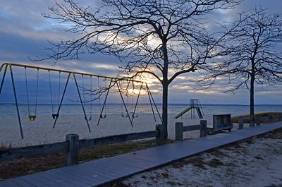 Dawn at Nassau Point Beach, NY