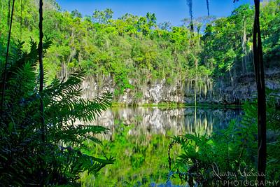 The Hidden Lagoon in Santo Domingo