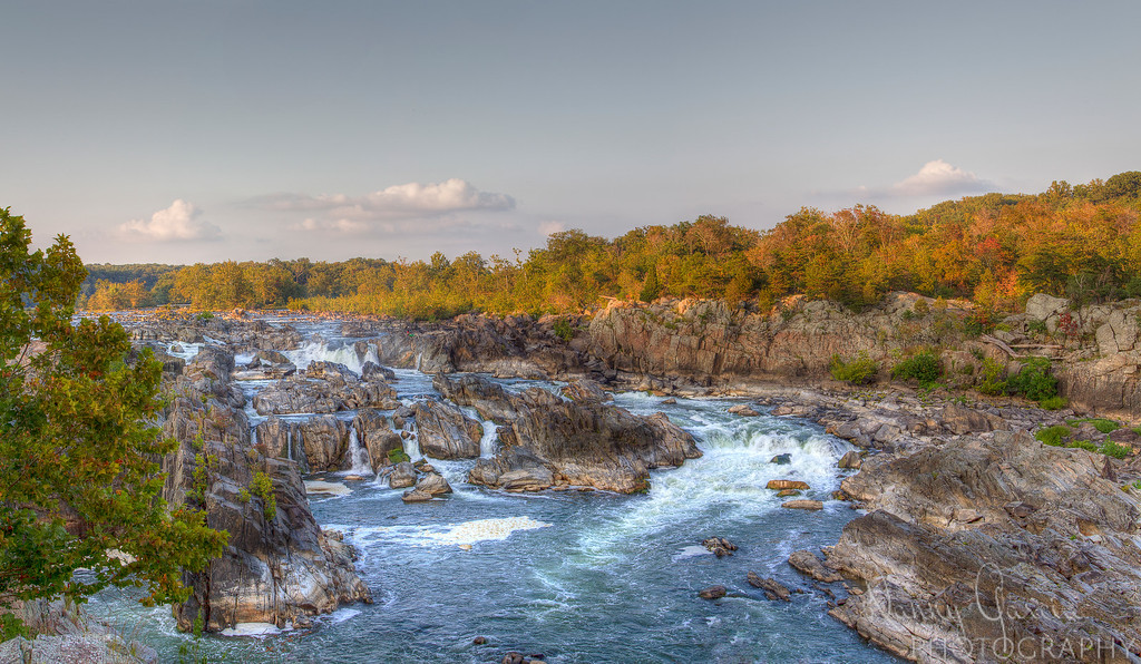 Panoramic Great Falls of the Potomac