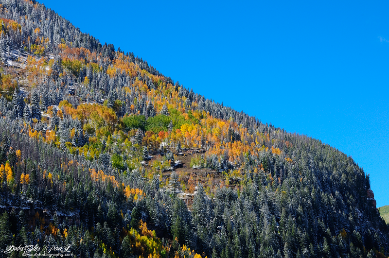 On scenic highway to Aspen, Colorado