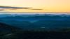 Sunrise on the Blue Ridge Parkway