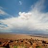Way to Grand Canyon South Rim - North Rim View - Arizona - USA