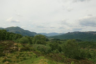 Ben Venue, Loch Katrine and Ben A'an