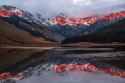Peak C Alpenglow