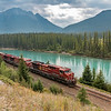 Canadian Pacific through the Rockies
