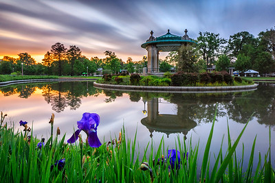 Pagoda Circle Sunrise