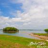 Lake Sidney Lanier reservoir in the northern portion Georgia - USA