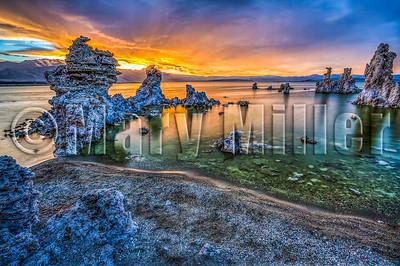 A Mono Lake Sunset