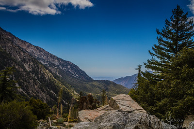 View from the San Gabriel Mountains