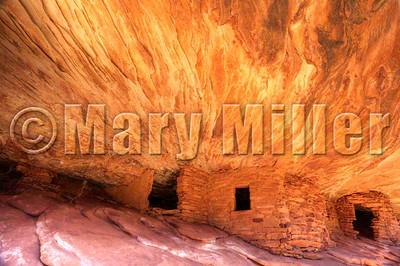 House On Fire Mule Canyon Utah