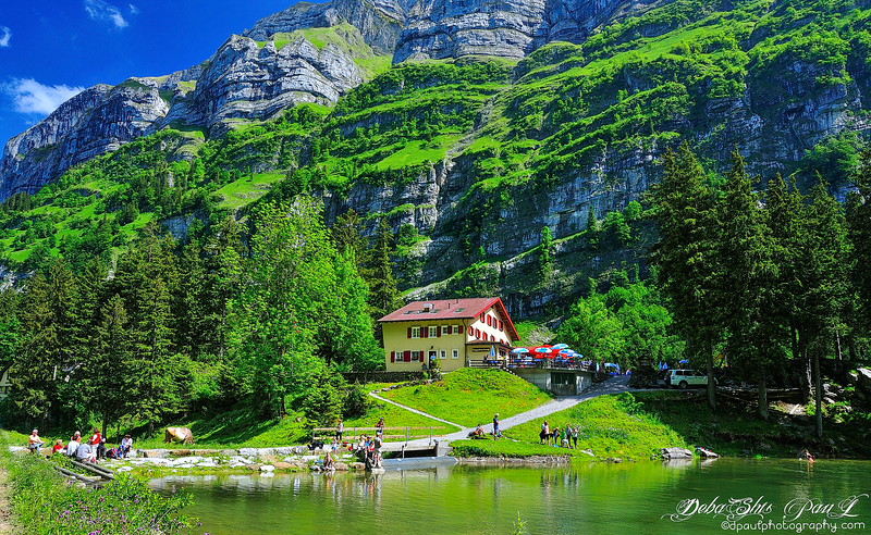 Lets go to Alps this Summer ... Mesmerizing Swiss Summer beauty ... Seealpsee Lake @ Ebenalp - Switzerland