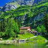 Lets go to Alps this Summer ... Mesmerizing Swiss Summer beauty ... Seealpsee Lake @ Ebenalp - Switzerland