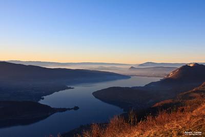 Lac d'Annecy depuis la Forclaz