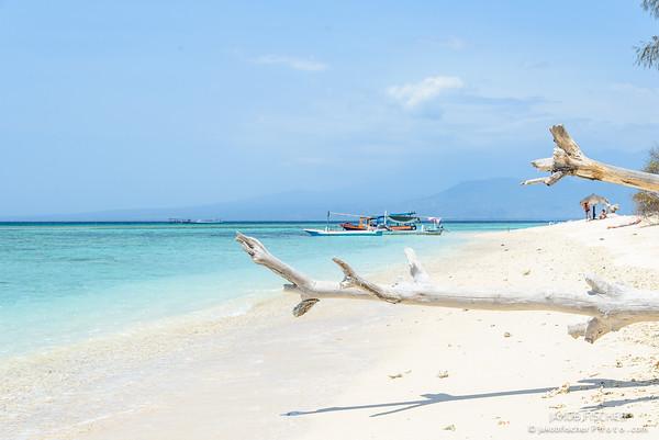 Beach of Gili Meno