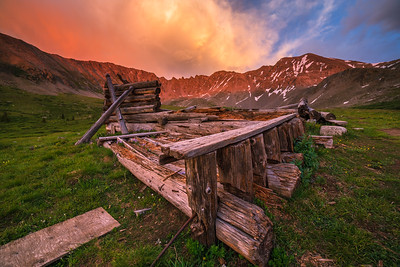 Mayflower Gulch Sunset