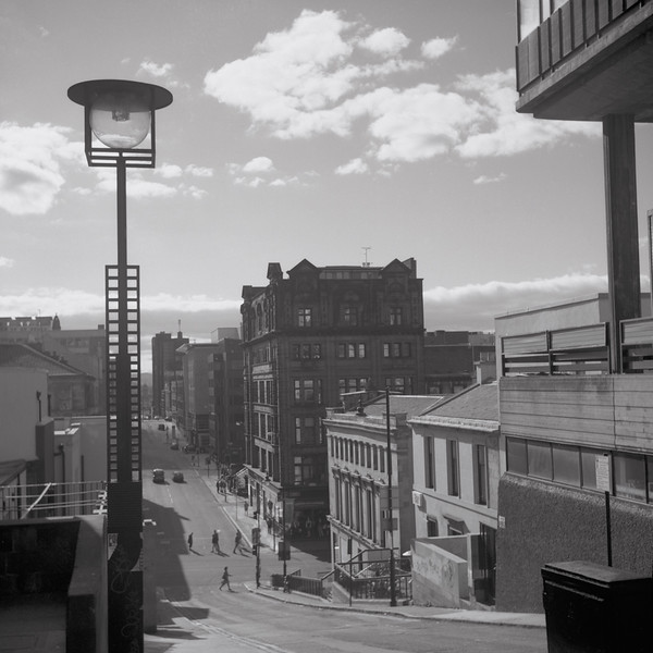 Section B - Print - Highly Commended  - Glasgow Street by Jonathan Pritchard