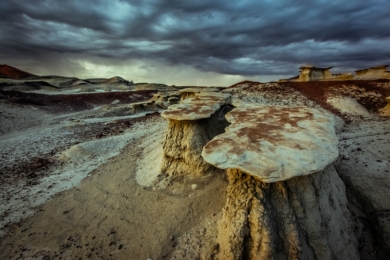Bisti Wilderness Rock Formation