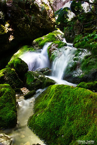 Cascade de la Doriaz (Savoie)