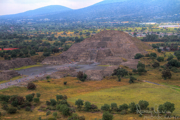 View from the Pyramid of the Sun