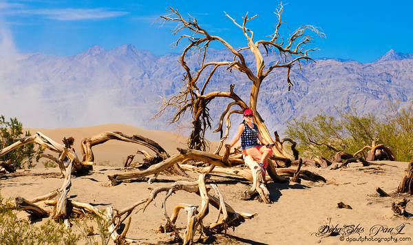Mesquite Flat Sand Dunes, Death Valley @ Death Valley National Park