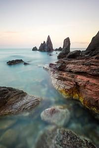 Noth coast of Menorca