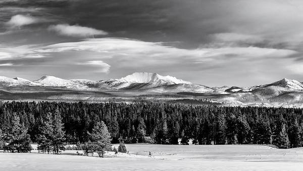 Electric Peak in the Gallatin Range