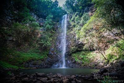 Secret Falls in Kauai