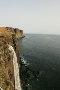 Cliffs & waterfall