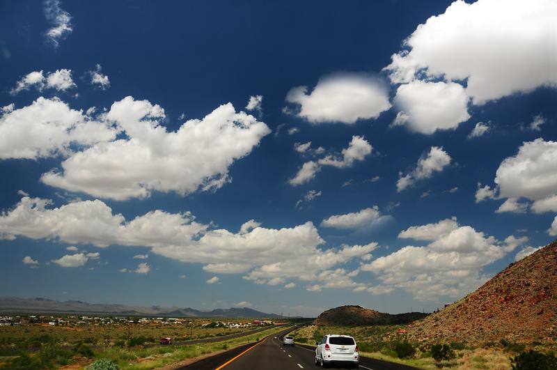 On the way to Grand Canyon South Rim - Phoenix, Arizona - USA