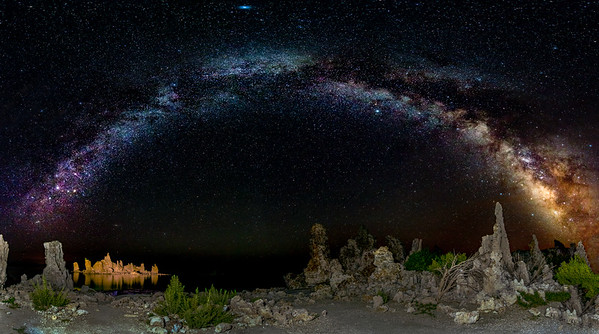 Mono Lake Milky Way