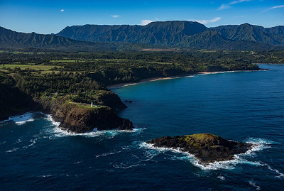 Kilauea Lighthouse Aerial