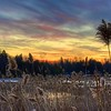 Sunset near Lake Desolation, NY. 20141227