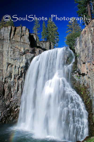 RAINBOW FALLS, MAMMOTH LAKES, CA - 1