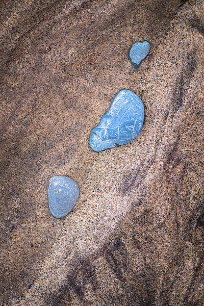 Sand and Stones, Lake Huron, Michigan