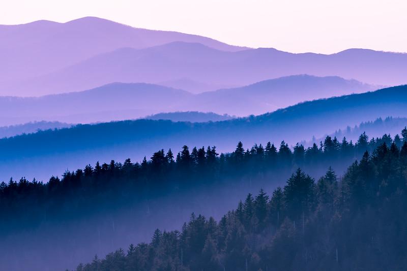 Great Smokey Mountains National Park.
