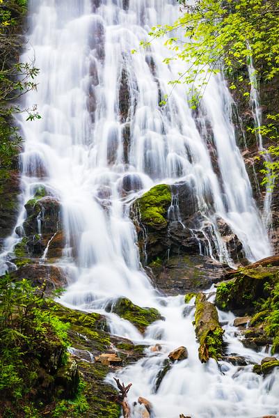 Mingo Falls, Great Smokey Mountains National Park.