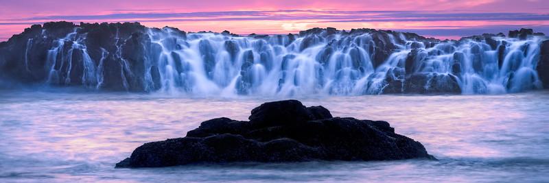 Coastal scene at Seal Rock, Oregon.