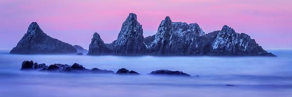 Coastal scene, Oregon